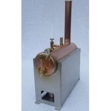 Babcock 3 inch Horizontal Model Steam Boiler Complete