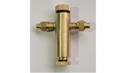 Displacement Lubricator for Live Steam Model Engines