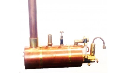 2 1/2 inch Horizontal Boiler Complete