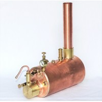 3 1/2 inch Horizontal Boiler Complete