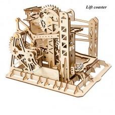 Wooden Marble Run - Marble Explorer/Lift Coaster