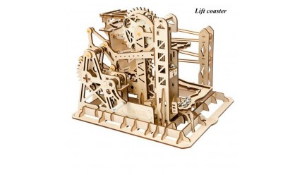 Wooden Marble Run - Marble Explorer/Lift Coaster