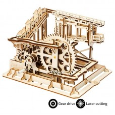 Wooden Marble Run - Marble Squad/Cog Coaster