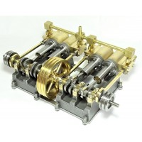 Horizontal Mill Quad Cylinder Engine Kit