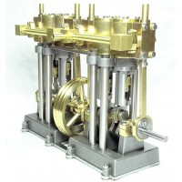 Vertical Marine Quad Cylinder Engine Kit - SHORT VERSION