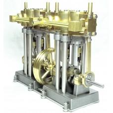Vertical Marine Quad Cylinder Engine Kit - SHORT VERSION
