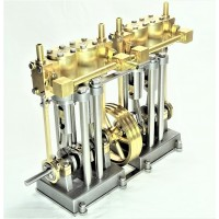 Vertical Marine Quad Cylinder Engine Kit