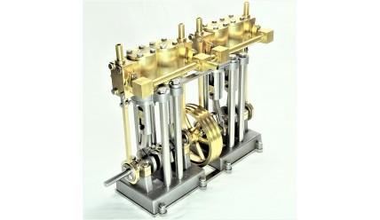 Vertical Marine Quad Cylinder Engine Kit