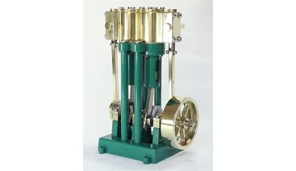 Vertical Marine Twin Cylinder Engine Kit